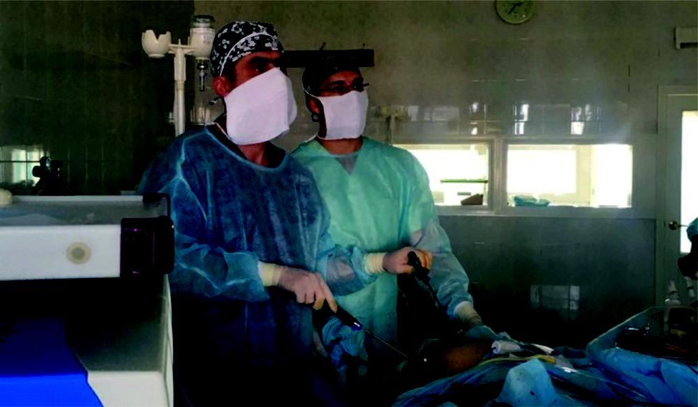 лапароскопические операции в урологии