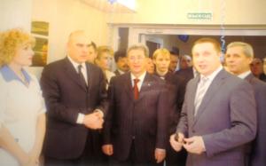 открытие гиекологического отделения 2008г.